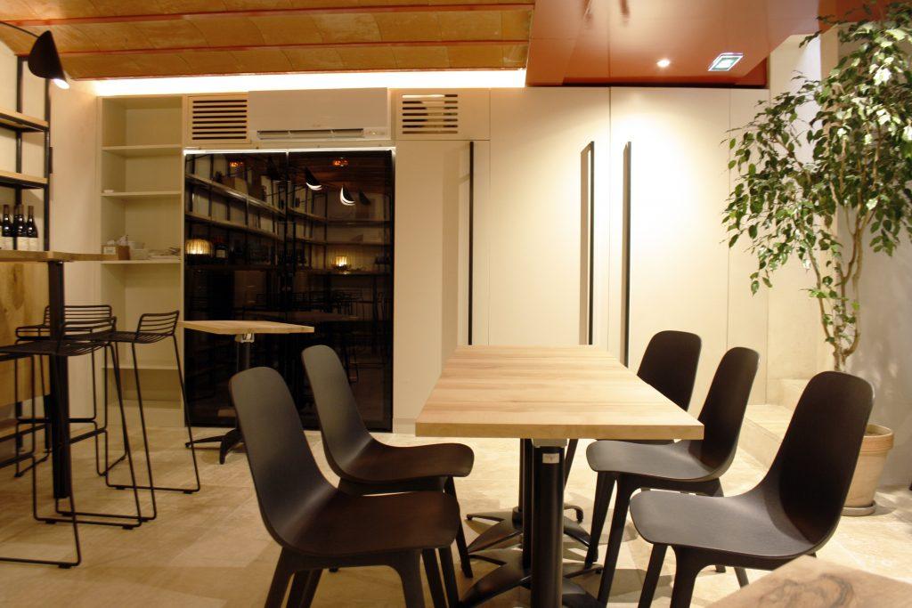 architecture intérieure d'un restaurant