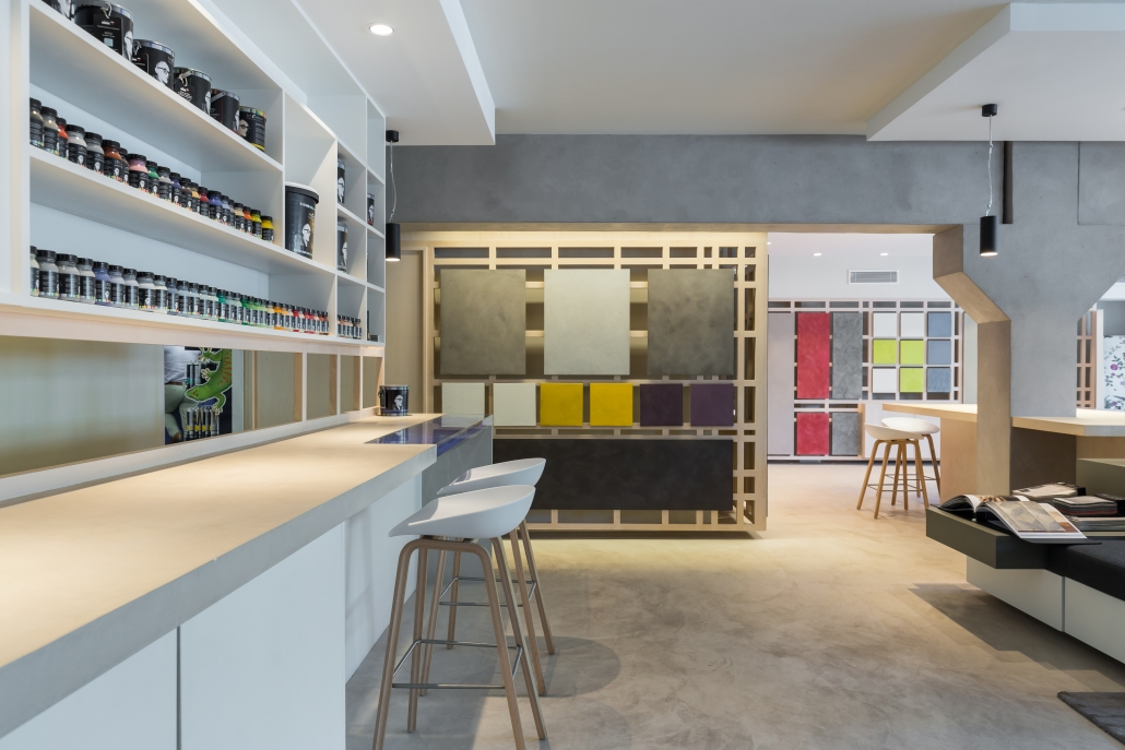 architecture intérieure local professionnel