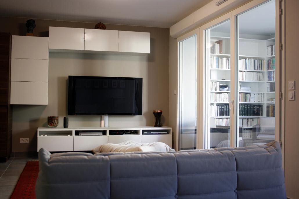 aménagement sur plan appartement Montpellier