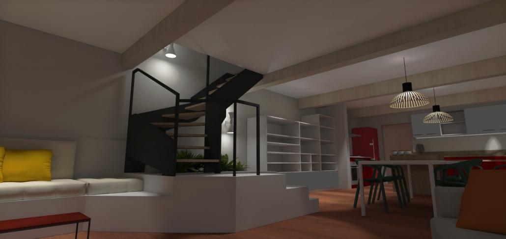 Sandrine Desnoues designer d'espace - conception sur mesure