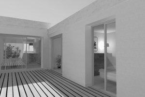 architecte interieur montpellier - extension maison la grande motte
