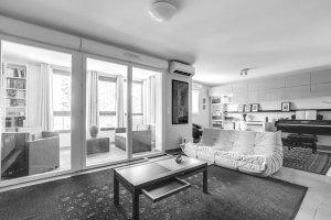 sandrine desnoues architecte d'interieur montpellier - esquisse cuisine sur mesure castelnau le lez