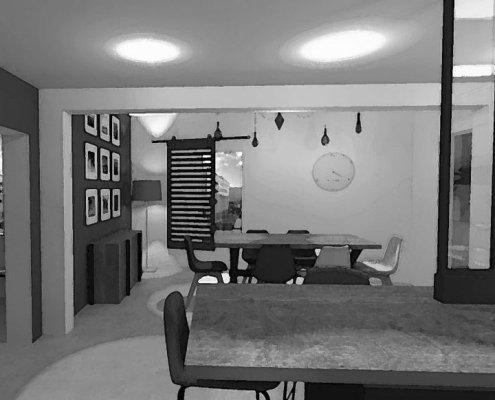 designer d'espace montpellier - couleur espace à vivre montpellier